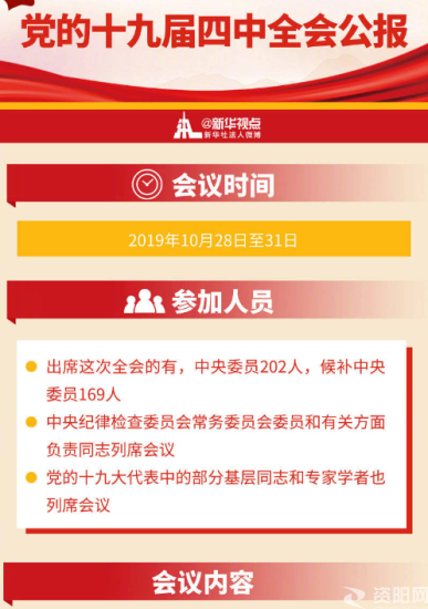 一圖ji)du)懂(dong)黨的十(shi)九屆四中全會公(gong)報
